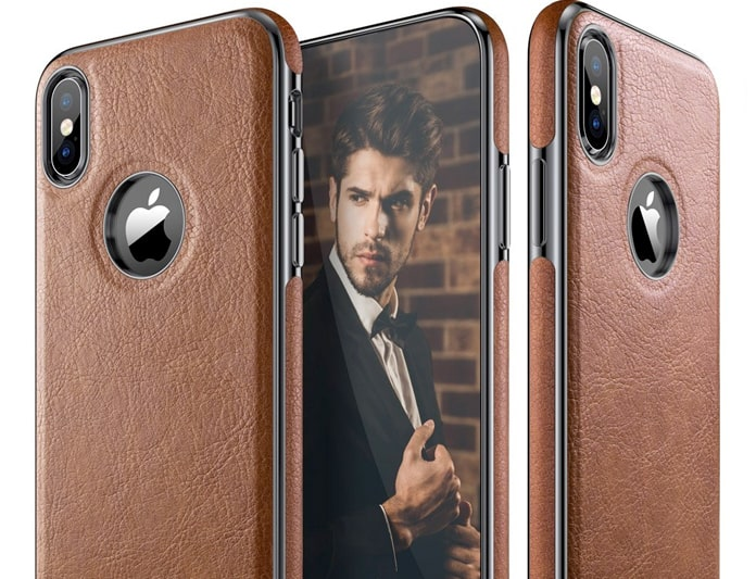 genuine leather case for iphone xs