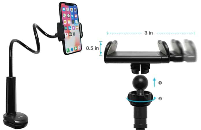 iphone stand for video