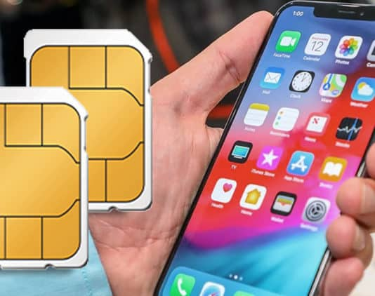 use two sim cards in iphone xs max