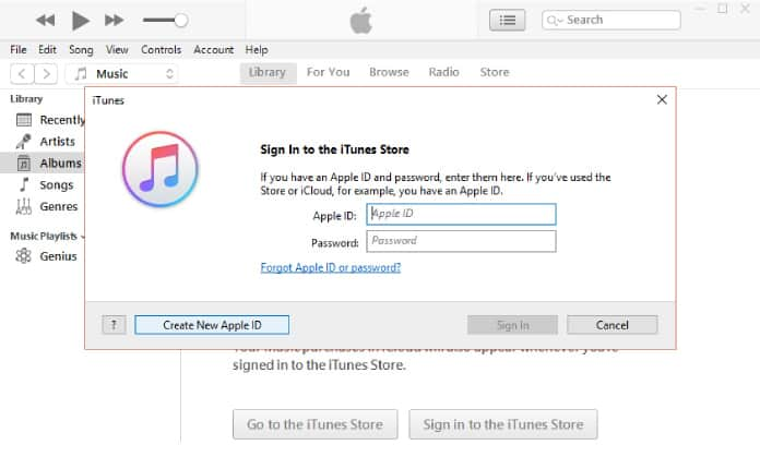 install itunes on windows