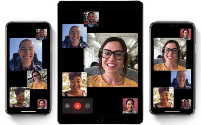 Use Group FaceTime on iPhone