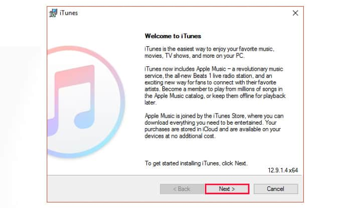 install itunes on windows 10