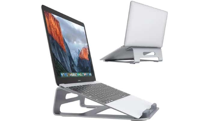 aluminum macbook pro stand
