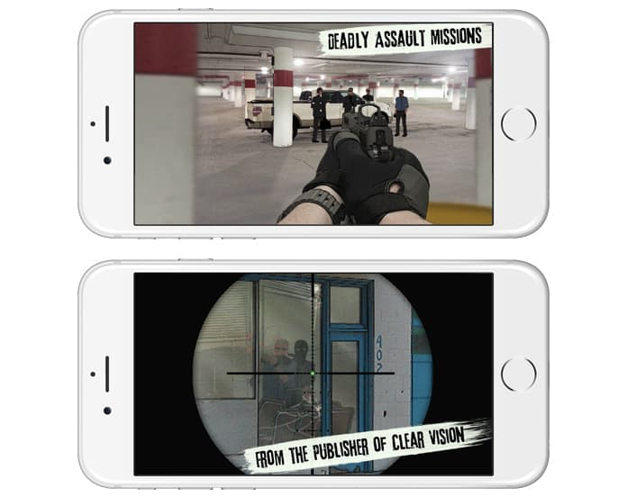 offline gun games for iphone