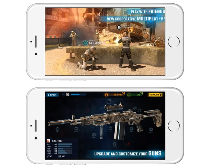 offline gun games for android