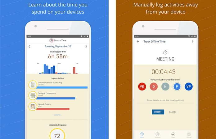 time management apps for iphone