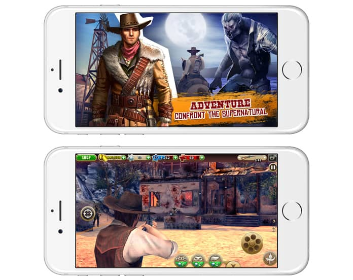 best offline shooting games for iphone
