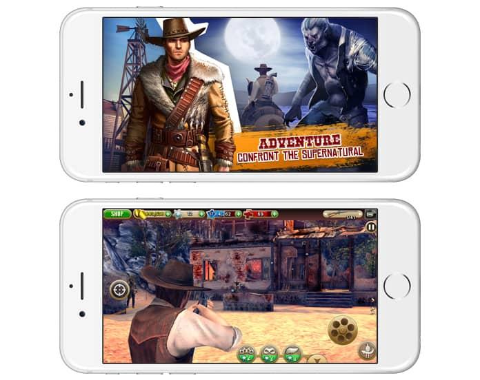 best offline shooting games for iphone