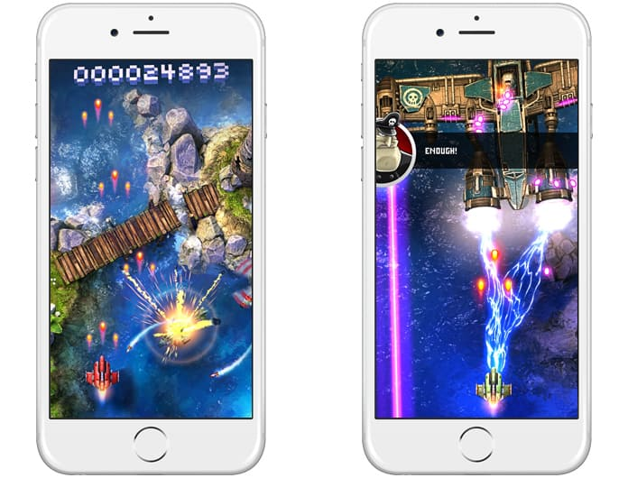 ios shooting games offline