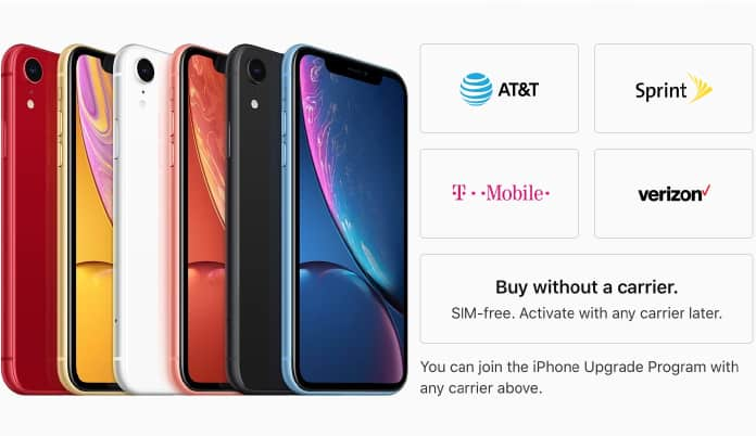 buy unlocked iphone xr