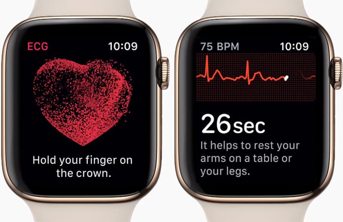 use ecg app on apple watch outside us