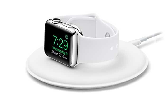 apple watch magnetic charging stand