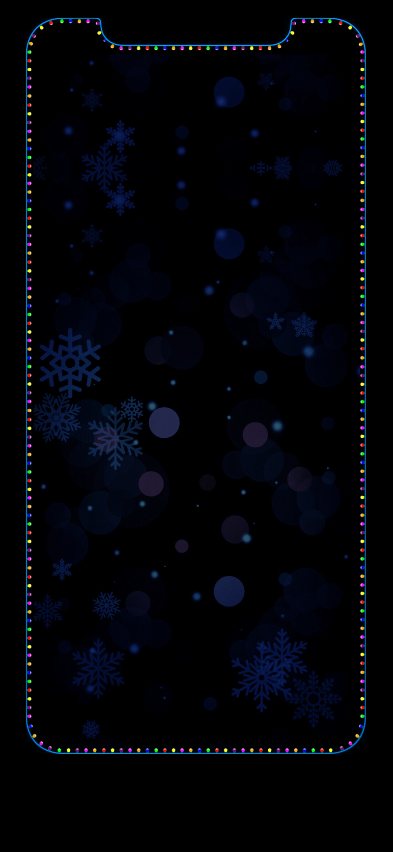 iphone xs christmas wallpaper