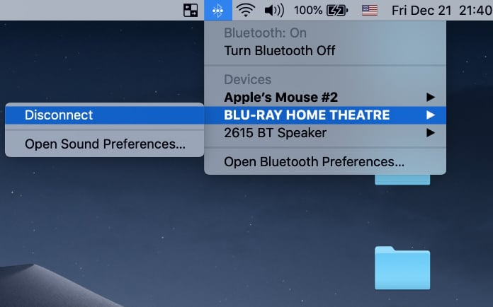 pair bluetooth speaker to mac