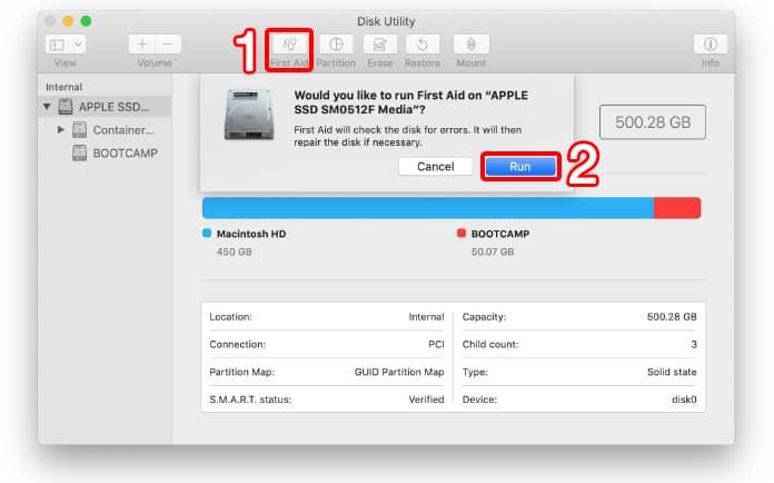 how to fix error code on mac