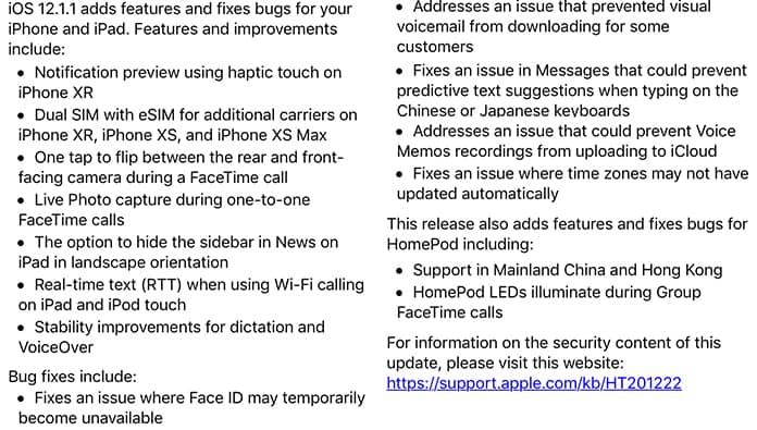 download ios 12.1.1 ipsw