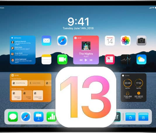 ios 13 features on ipad pro