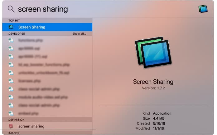 share mac screen with another mac