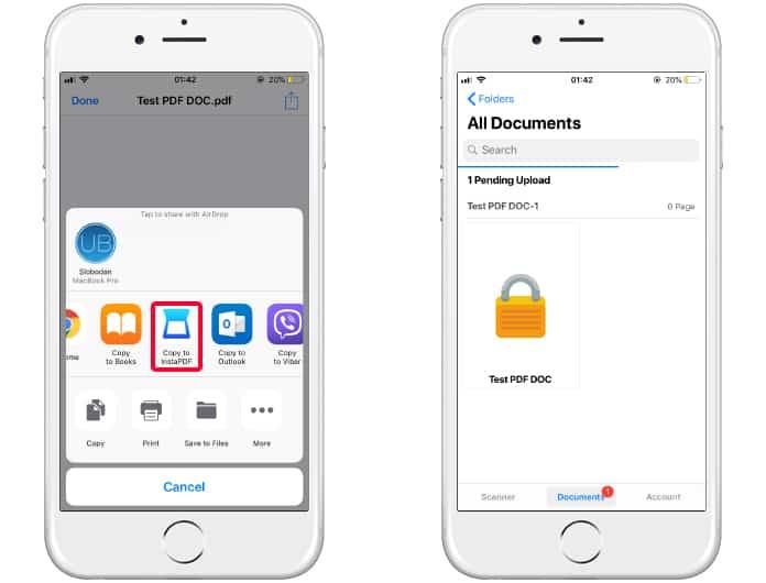 ibooks password protected pdf