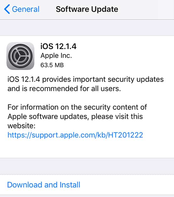 download ios 12.1.4 ipsw