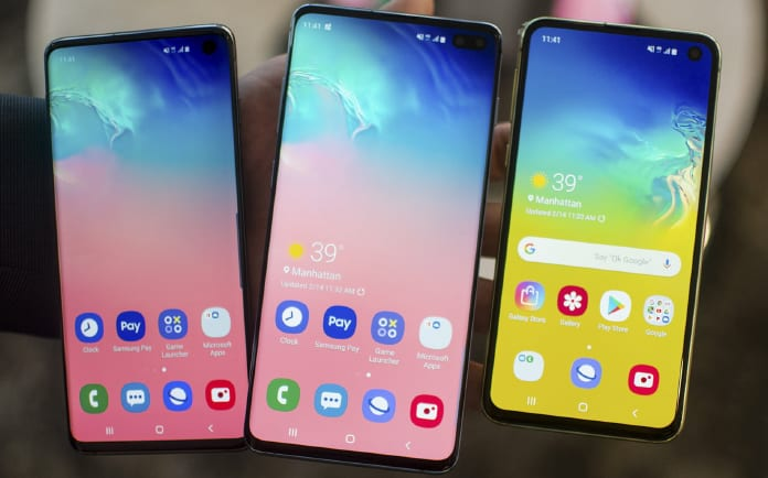 unlocks Samsung Galaxy S10