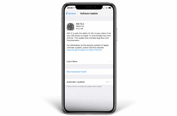 ios 12.2 download