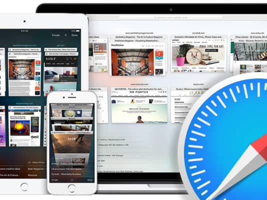 remove website from never save in safari