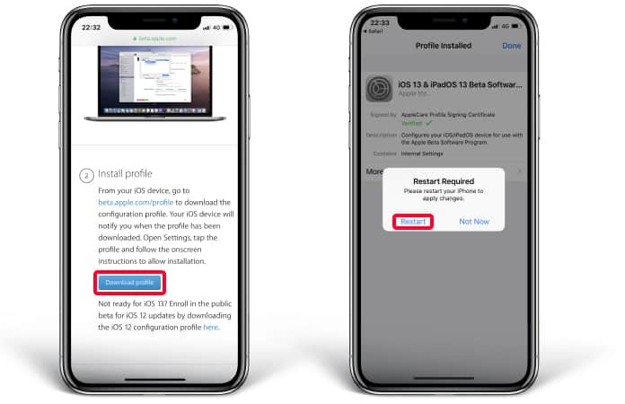 How to Download and Install iOS 13 Public Beta (Correct Method)