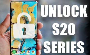 unlock samsung galaxy s20