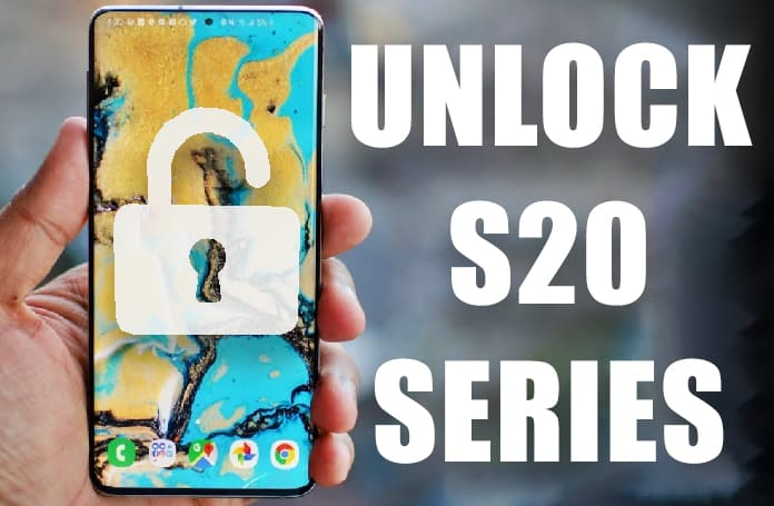 How to Unlock Samsung Galaxy S20 Ultra 5G, S20 & S20 Plus