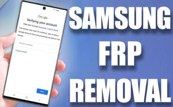 Samsung FRP Removal Service