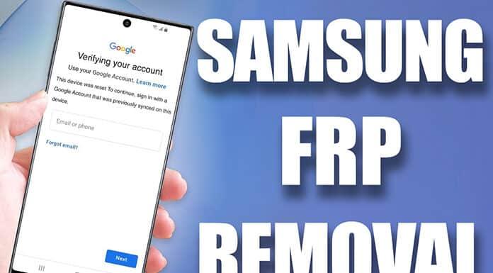 Samsung FRP Removal Service