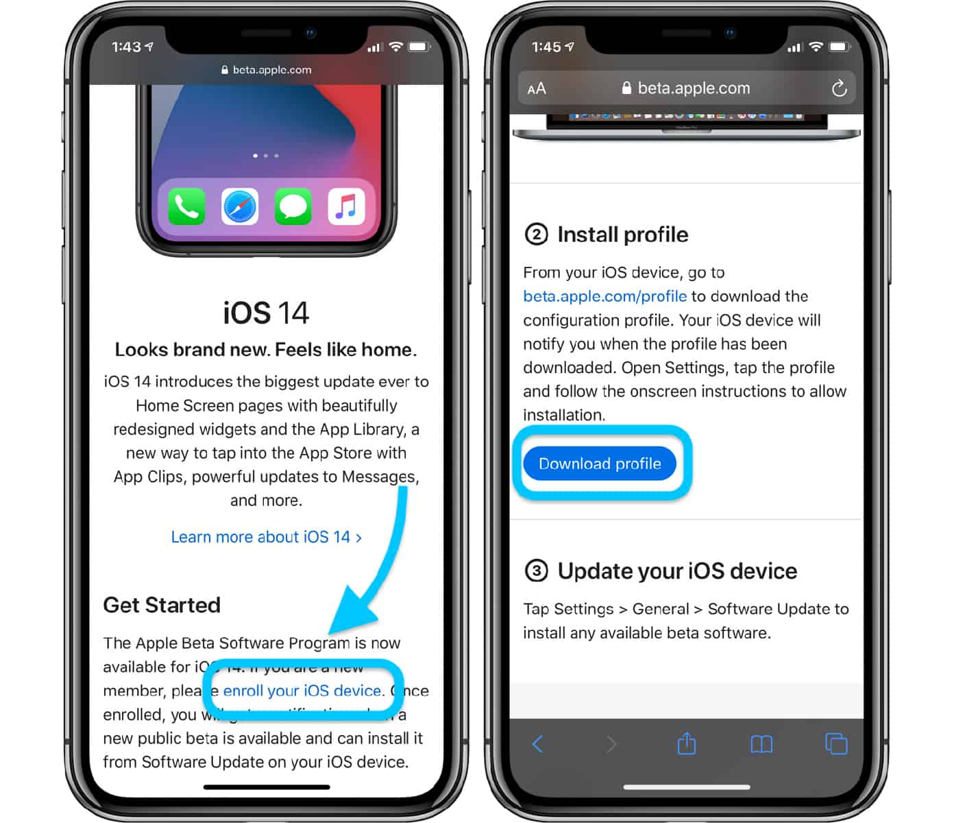 download ios 14 beta