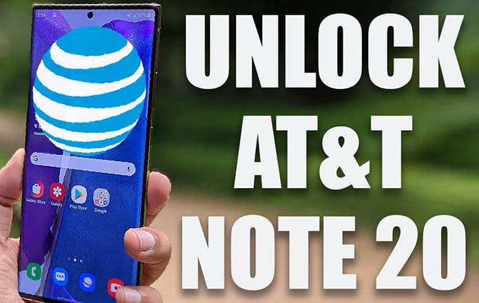 unlock AT&T note 20 ultra 5g