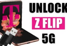 unlock t-mobile galaxy z flip 5g