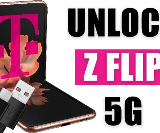 unlock t-mobile galaxy z flip 5g