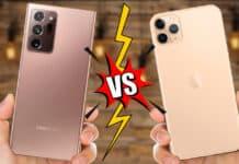 note 20 vs iphone 11 pro max