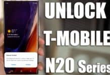 unlock t-mobile note 20 ultra 5g