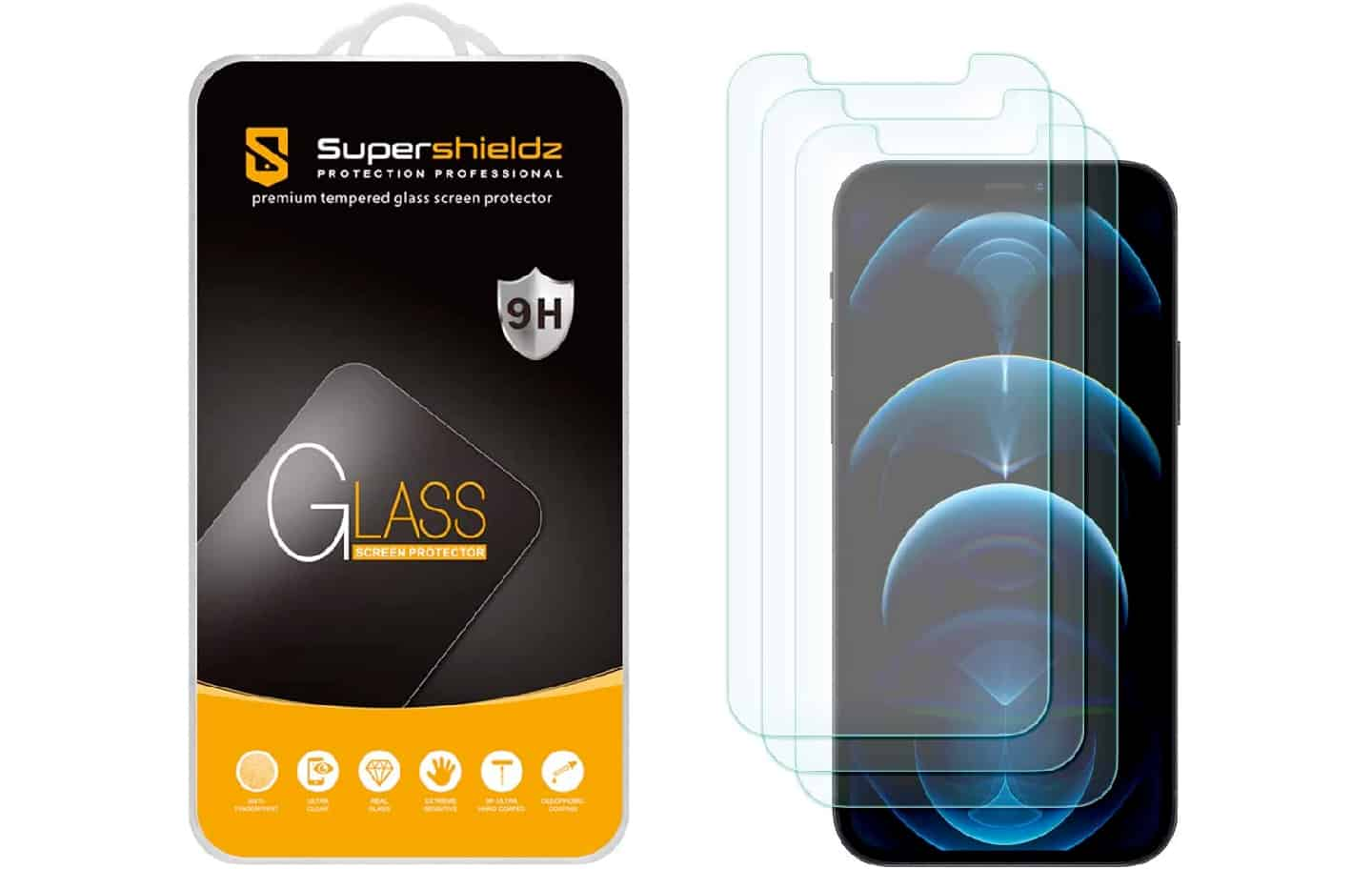 tempered glass protector for iphone 13 pro