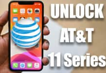 Unlock AT&T iPhone 11