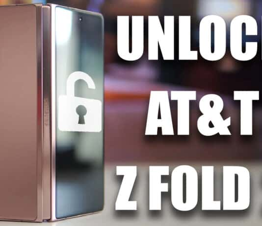 Unlock AT&T Z Fold 2