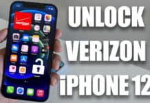 unlock verizon iphone 12