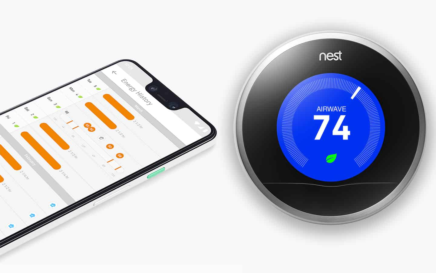 smart thermostat that works with google home