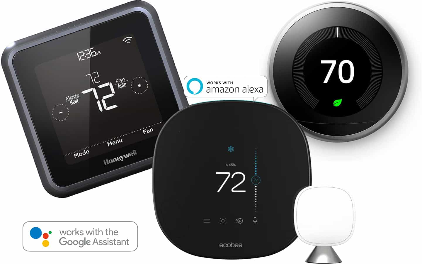 5 Best Smart Thermostats Compatible With Alexa  U0026 Google