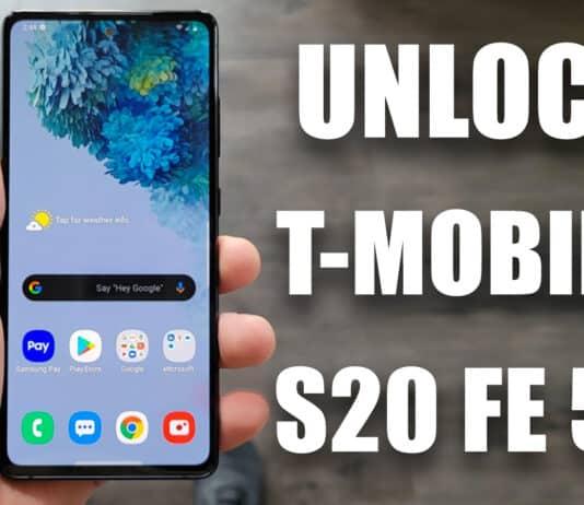 unlock t-mobile s20 fe 5g