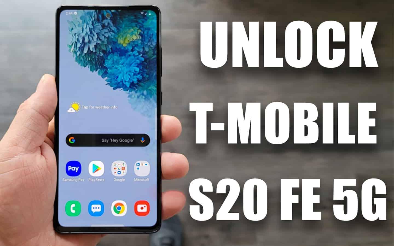 buka kunci t-mobile galaxy s20 fe 5g