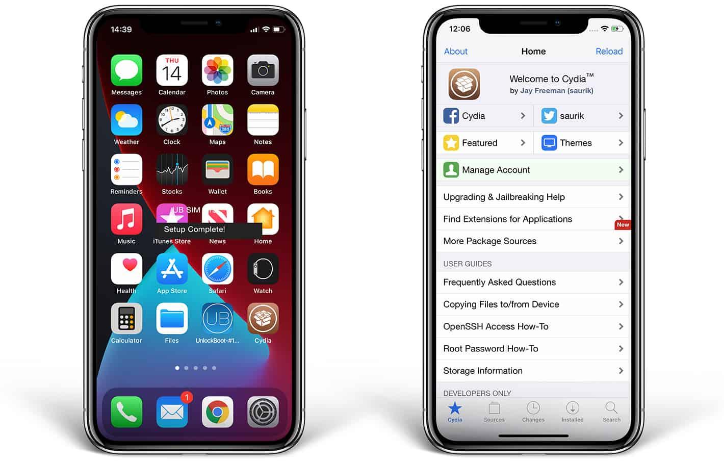 jailbreak iphone x ios 14.4
