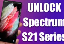 unlock spectrum galaxy s21 ultra 5g