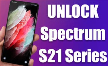 unlock spectrum galaxy s21 ultra 5g