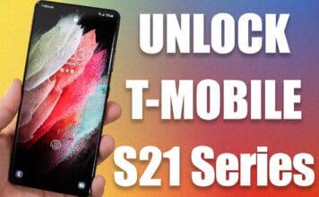unlock t-mobile s21 ultra 5g